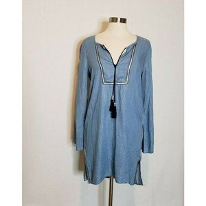 Nanette Lepore  Chambray Tunic Dress Casual Summer